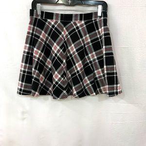 Forever 21 Plaid Grunge Mini Skirt  Size: Medium